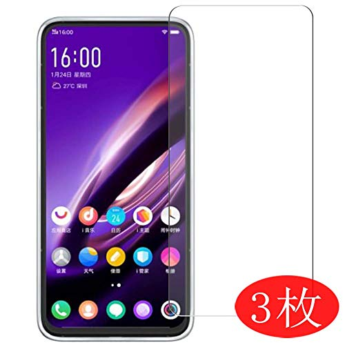 【3 Pack】 Synvy Screen Protector for vivo apex 2019 0.14mm TPU Flexible HD Clear Case-Friendly Film Protective Protectors [Not Tempered Glass] New Version