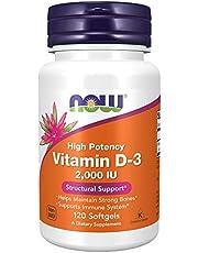 Now Foods Vitamin D-3 2000iu, 120 Softgels