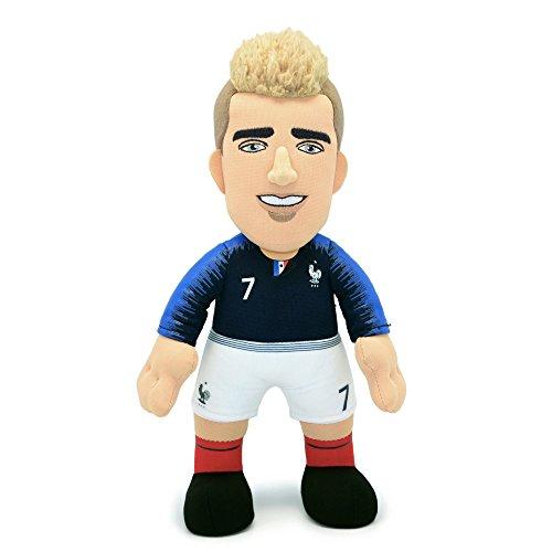 Poupluche Antoine Griezmann (Plüschfigur) 25 cm - Französische Fußballnationalmannschaft Trikot Home 2018