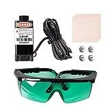 Sovol 3D 500mW Laser Module, 12-24V Engraving Laser Head Kits Magnetic Design with Goggles, Test Wooden Boards for SV01/ SV02/ Ender 3/ Ender 3 Pro/Ender 5 / Ender 5 Pro 3D Printer