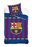 EL MUNDO Funda NÓRDICA (2 Piezas) Cama 90 cm FÚTBOL Club Barcelona