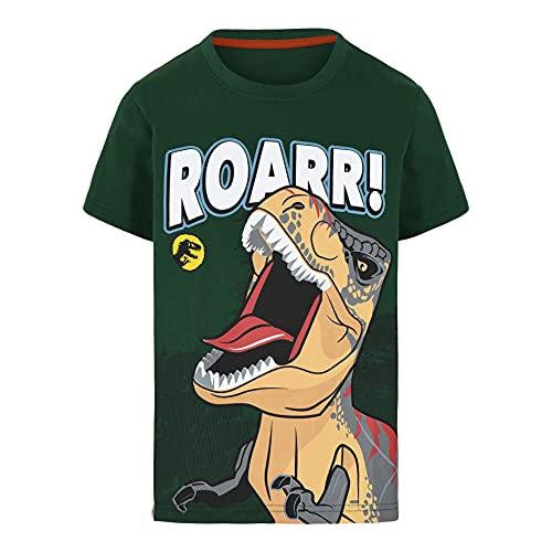 LEGO Jurassic World Jungen T-Shirt, 875, 140 Garçon