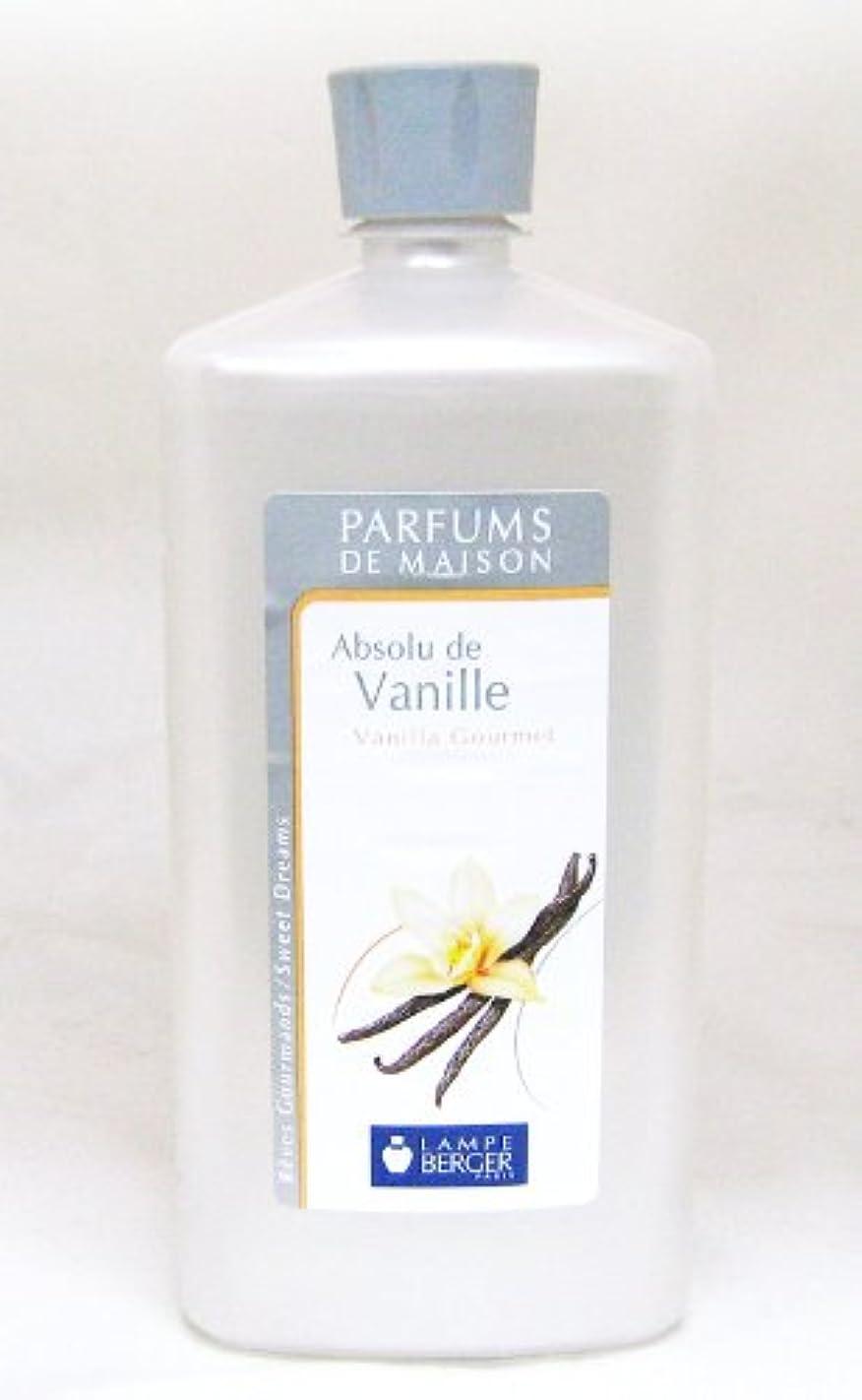 浜辺ルームガロンランプベルジェ フランス版 1000ml アロマオイル バニラ Absolu de Vanille
