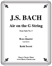 Air on the G String for Brass Quartet by Johann Sebastian Bach (2008-03-27)