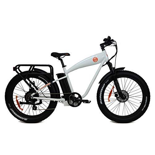 "Review Of KASEN K6.0 Bike Pedal Assist Rear Drive 1000W Motor Lithium Battery Cruiser Bike 26"" Fat..."