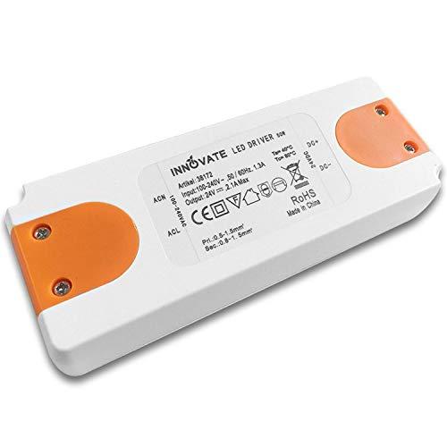 LED trasformatore ECO 24 Volt / DC 0-50W - trasformatore - Alimentazione - Driver da INNOVATE®