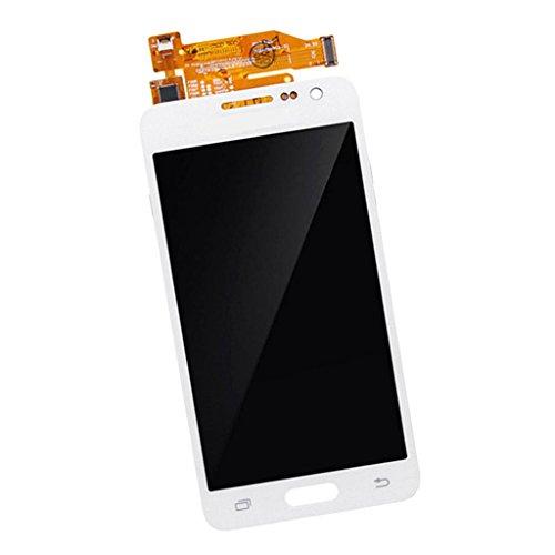 SM SunniMix Smartphone Anteriore Display LCD + Schermo di Tocca per Samsung A3 - Bianca
