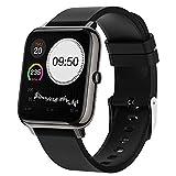 Docooler Smartwatch, 1,4 Zoll Full Touch-Farbdisplay Fitness Armbanduhr Fitness Tracker IP67 Wasserdicht Sportuhr Smart Watch für Damen Herren