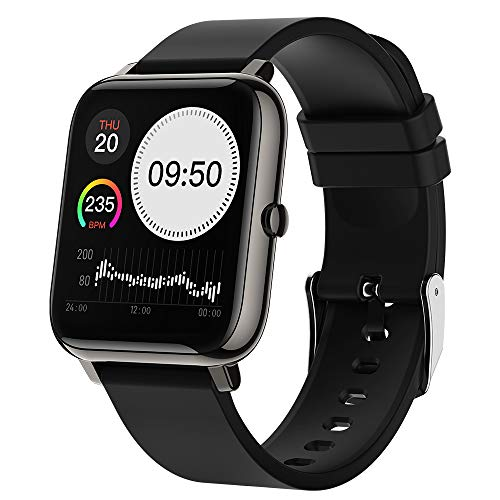 Docooler Smartwatch, 1,4 Zoll Full Touch-Farbdisplay Fitness Armbanduhr Fitness Tracker IP67 Wasserdicht Sportuhr Smart Watch für Damen Herren