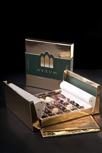Bombones Surtidos Chocolate Artesano Gourmet 'Aurum 34-1' 180g