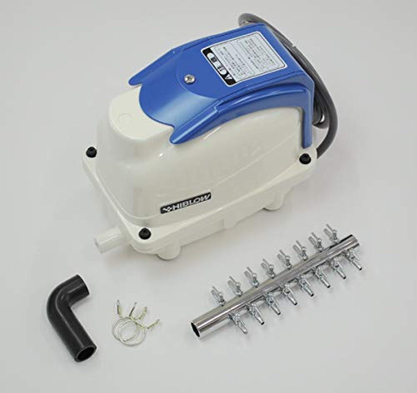 鎮静剤浅い甘やかすXP-40(16方分岐装置付き)テクノ高槻 エアーポンプ ブロアー