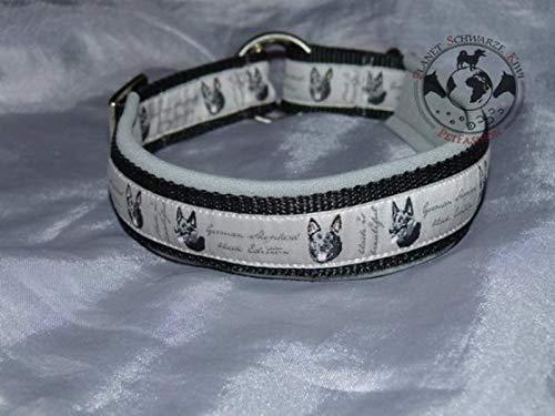 Hunde Halsband schwarzer Schäferhund