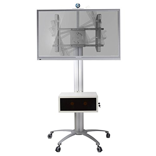 """Homevision Technology LCD8503 Mobile TV Stand for 30"""" to 60"""" TV, Black"""