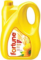 Fortune Sunlite Refined Sunflower Oil, 5L Can