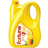 Fortune Sunlite Refined Sunflower Oil, 5L Can, BLR