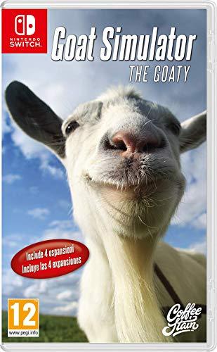 Goat Simulator: The Goaty - Bundle - Nintendo Switch [Importación italiana]
