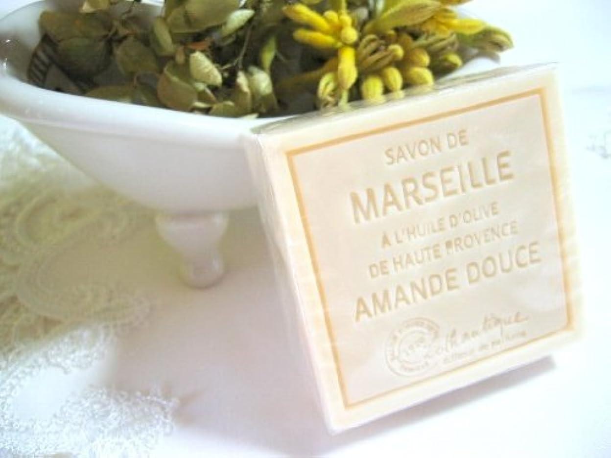 ゆでるのぞき見涙が出るLothantique(ロタンティック) Les savons de Marseille(マルセイユソープ) マルセイユソープ 100g 「アーモンド」 3420070038111