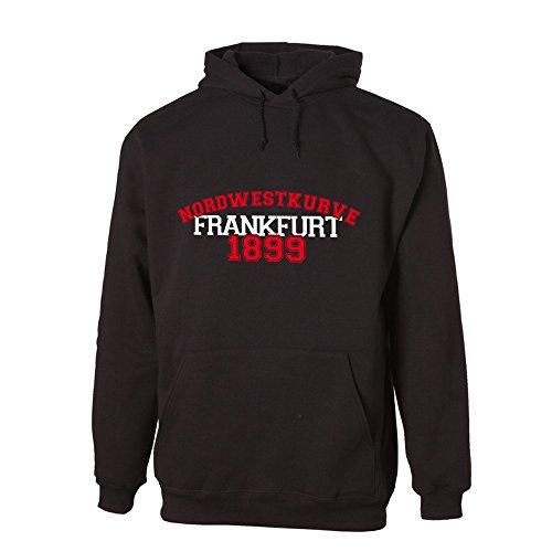 G-graphics Nordwestkurve Frankfurt 1899 Lightweight Hooded Sweat (078.228) (XL)