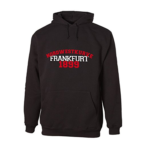 G-graphics Nordwestkurve Frankfurt 1899 Lightweight Hooded Sweat (078.228) (L)