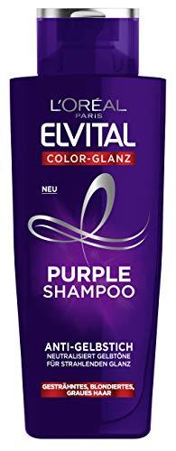 L'Oréal Paris Elvital Color Glanz Purple Shampoo 6er Pack(6 x 200 ml)
