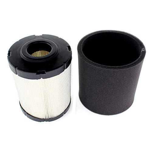 AISEN 16-083-01-S 16-083-02-S Filtre à air pour charbon ZT710 ZT720 ZT730 ZT740# 16-083-02-S (Air Filter & Pre Filter Combo)