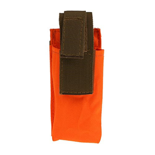 Gazechimp Sac De Rangement Portable Boucle Clasp Facile Attache Accessoire Housse Outil Garrot Cisaillère Médicale - Orange, 130mm * 60mm * 35mm