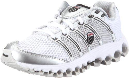 K-Swiss Tubes Run 100 A 92316 - Zapatillas de Deporte de Nailon para Mujer, Color Blanco, Talla 39