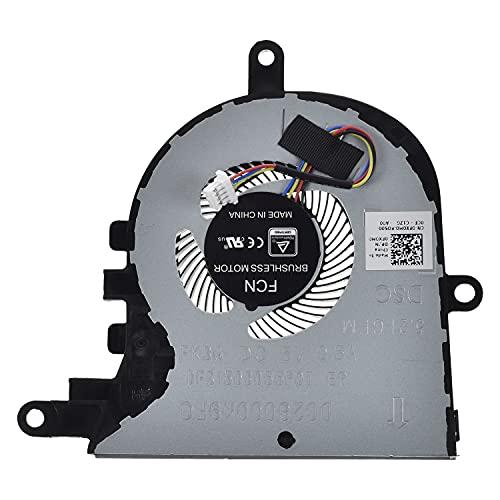 LPUK Ersatz CPU-Lüfter kompatibel mit Dell Inspiron 15 5570, 5575 Latitude 3590 p/n: FX0M0, 0FX0M0