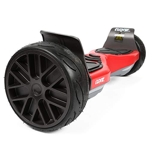 tuRnz Valley850 8.5 inch All Terrain Off Road Hoverboard, 800W Power Self Balancing Scooter, UL 2272 Certified, Bluetooth Speaker, Led Lights, Long Range Ride (9.5 Miles)