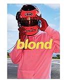 DPFRY Frank Ocean Blond Poster Wandkunst Drucke Weiß