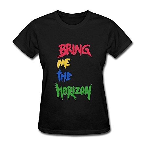 RZF Damen's Bring Me The Horizon Sempiternal Bmth T-Shirt- schwarz Medium