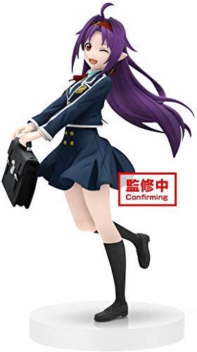 Banpresto -BP39990 Actionfigur, Sword Art Online, EXQ, Yuuki, School Uniform (Bandai BP39990)