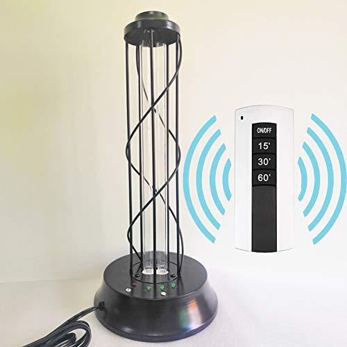 GT-LYD UV-Licht-Desinfektion, 38 Watt Mit Fernbedienung UV-Keimtötungssterilisator Für Auto Wohnzimmer Schlafzimmer Haushalt Küche Hotel Haustierbereich