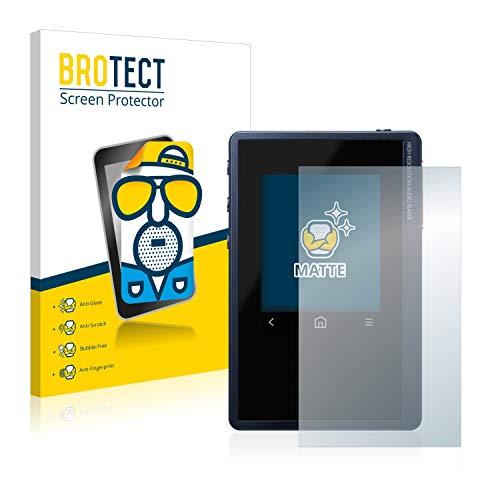 BROTECT 2X Entspiegelungs-Schutzfolie kompatibel mit Pioneer XDP-02U Bildschirmschutz-Folie Matt, Anti-Reflex, Anti-Fingerprint
