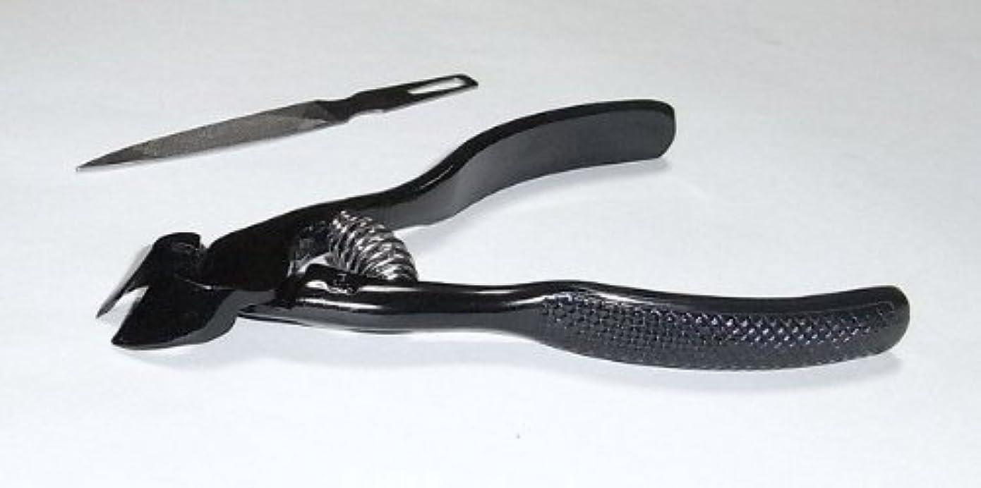 スポークスマン稼ぐトチの実の木爪切ニッパー(ブラック)
