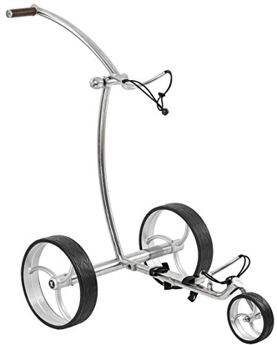 Leisure Golf Elektro Golftrolley Taurus Slim Line Bergabfahrbremse und Distanztimer