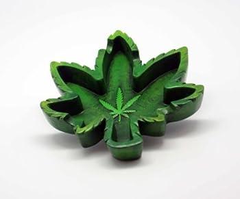 5.25  Hemp Leaf Ashtray