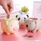CFPacrobaticS Kinder Netter Panda Tier Sparschwein Geld Spardose Geld Bank Aufbewahrungskoffer Wohnkultur Kinder Kleine Katze#