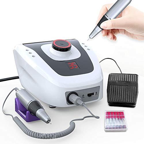 Nagellackierer 32w 35000rpm Elektrisches Nagel-maniküre-maschinenset Für Nagel-pediküre-maschine Fingernagel-bohrklinge Fingernagel-zubehör Werkzeuge