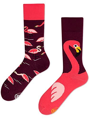 Many Mornings unisex Socken Pink Flamingo (39/42)