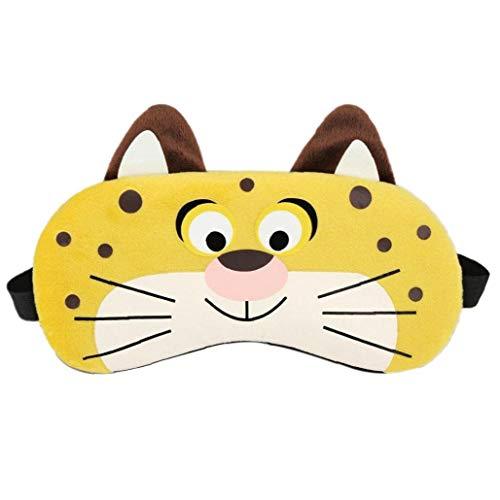 Kaninchen Tiger Fox Schlafmaske Cartoon Eyepatch Augen-abdeckung Rest-spielraum-relax Compress Eyeshade Bandage