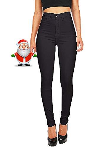 Imily Bela High Waist Jeans Damen Skinny Stretch Regular Fit Basic...