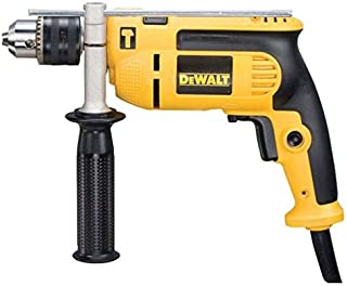 DeWalt 750W 13mm percussion drill with variable speed switch for Drilling concrete Metal wood., Yellow/Black, DWD024K-B53 ...