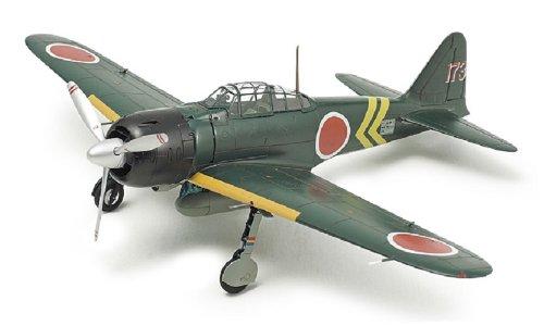 タミヤ 1/72 ウォーバードコレクション No.85 日本海軍 三菱 零式艦上戦闘機 22型/22型甲 プラモデル 60785