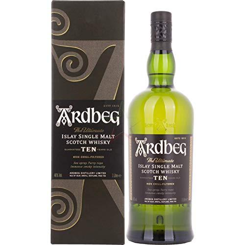 Ardbeg TEN Years Old Islay Single Malt Scotch Whisky 46,00% 1,00 Liter