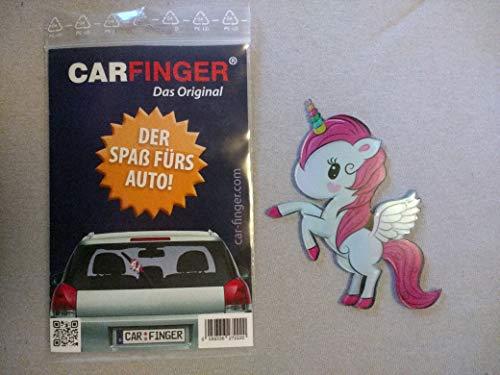 Car Finger Mini-Einhorn - witziges Auto - Zubehör für den Scheibenwischer Outdoor Kfz Tuning Zubehör ist EIN witziges Spielzeug für Kinder, Damen und Herren