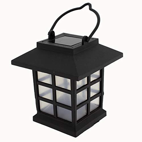 Annastore 4 x Solar-Lampe zum Hängen 9 cm - Solarlampen für Draußen - Partybeleuchtung - Gartenbeleuchtung Solar - Solar-Laterne