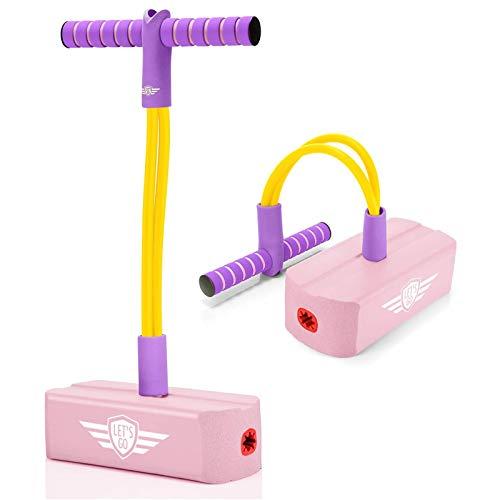 YOUNGE Foam Pogo Springstange mit hoher Elastizität und rutschfestem Griffspielzeug für Kinder