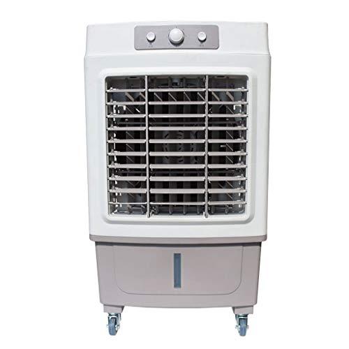 YWARX 3-in-1 Mobiele airconditioner, luchtkoeler, ventilator, extra luchtbevochtigings- en luchtreinigingsfunctie (4000 m3/h luchtverplaatsing) 100 W