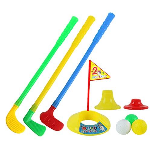 Bageek Kinderen Golf Speelgoed Set Creatieve Antislip Speelgoed Handvat Golfspel Golf Speelset Sport Speelgoed